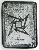 Metallica - '30 Years' Woven Patch